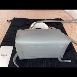 Celine Bags - NANO BELT BAG IN GRAINED CALFSKIN